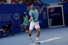 Novak Djokovic Through in Mexico On Return