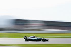 Mercedes' Valtteri Bottas Sets Fastest Time in Testing