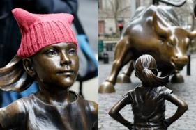 'Fearless Girl' Statue Stares Down Wall Street's Iconic Bull