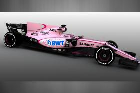 Force India Formula One Team Reveals New Pink Livery for 2017 Season