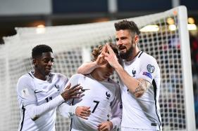 World Cup Qualifiers: Giroud Earns France 3-1 Win Against Luxembourg