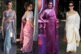 Birthday Special: Kangana Ranaut Is Acing The Sari Game Like No One Else