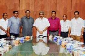 Parrikar Retains Home, Finance; Others Get a Ministry Each