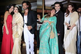 Katrina-Rekha Bond; Dimple, Twinkle Share a Light Moment With Karan Johar