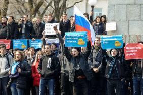 Anti-Corruption Protests Sweep Russia, Opposition Leader among Hundreds Arrested