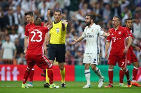 Champions League: Ancelotti, Vidal Slam Referee After Real Madrid Defeat