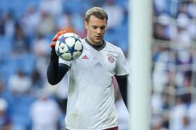 Bayern Munich's Manuel Neuer Out for Rest of 2017