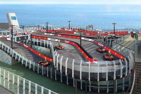 Norwegian Joy Luxury Cruise Ship to Have a Ferrari-Branded Racetrack