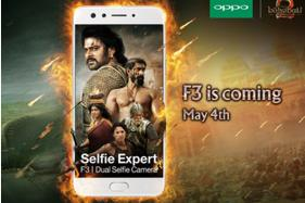 Baahubali Powered Oppo F3 With Dual-Selfie Camera to Launch on May 4