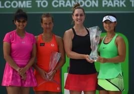 Miami Open: Sania Mirza-Barbora Strycova Lose in Final