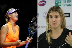 Eugenie Bouchard Wants Life Ban for 'Cheater' Maria Sharapova