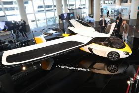 Flying Cars Aeromobil And Pal-V Liberty Take Off on French Riviera
