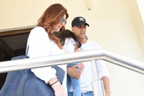 Akshay Kumar Enjoys Day Out with Daughter Nitara, Wife Twinkle Khanna