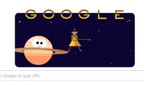 Google Doodle Marks Cassini Spacecraft's 'Grand Finale' of Saturn Mission