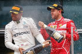 Sebastian Vettel Wins Bahrain Grand Prix, Lewis Hamilton Second