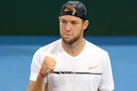 Jack Sock Avoids Upset to Reach Houston Semis
