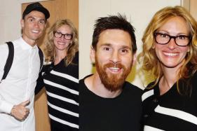When Julia Roberts Met Lionel Messi and Cristiano Ronaldo