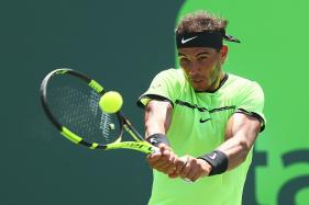 Rafael Nadal Beaten in Melbourne But Injured Knee 'Fine'