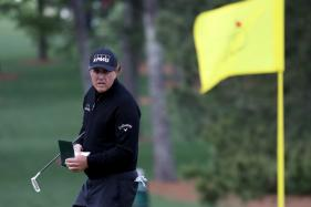 Phil Mickelson Breaks Par for 50th Time at US Masters