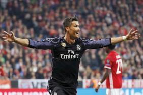 Ronaldo Hits 100th European Goal as Real Beat Bayern 2-1
