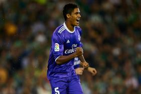 Real Madrid's Raphael Varane to Miss Bayern, Barcelona Clashes