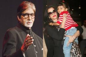 'Reluctant' Aaradhya Finally Agrees To Come Out To Greet The Well Wishers: Amitabh Bachchan