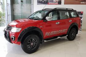 GST: Mitsubishi Pajero Sport Now Cheaper By Up To Rs 1.04 Lakh