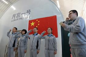 Chinese PG Students to Live in Lunar-Like Environment For Future Human Moon Probe