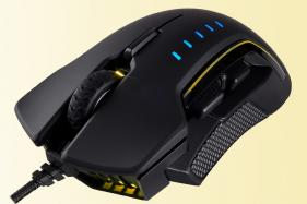 Corsair Glaive RGB Gaming Mouse With 16k DPI Launched For Rs 6,499