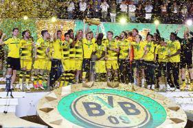 Aubameyang Scores the Winner as Dortmund Clinch German Cup