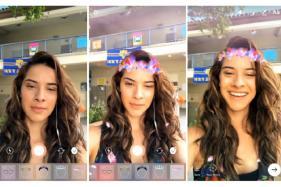 Instagram Update Brings Face Filters, Creative Camera Tools