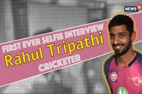 Rising Pune Supergiant's Rahul Tripathi Loves Playing Stick Cricket on His Phone