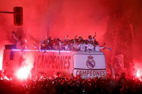 Thousands Flock to Madrid as Real Celebrate Title
