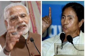 In Kolkata, it's 3 Years of Modi Vs 6 years of Mamata