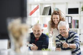 Active Video Games Good For Brain Health: Research