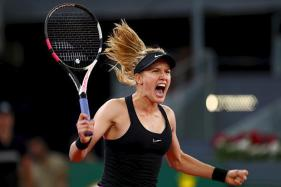 Eugenie Bouchard Beats 'Fallen Idol' Sharapova in Madrid Open