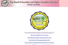 GBSHSE Goa Board SSC Result 2017 To Be Declared Today: Check Your Result Here