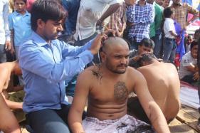 Hardik Patel Shaves Head, to Launch Nyaya Yatra Ahead of PM Visit