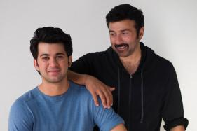 Sunny Deol Shares Son Karan Deol's Photo From His First Day at Shoot