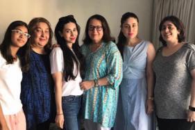 Kareena, Karisma Spend Quality Time With Mother Babita; Taimur Spotted