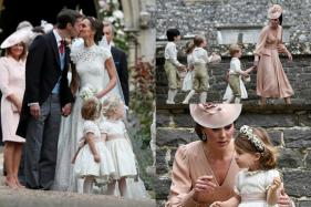 Kate Middleton Plays The Perfect Sister At Pippa's Wedding; See Pics