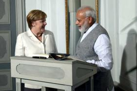 'Good Interaction' Says PM Modi After Meeting Chancellor Angela Merkel