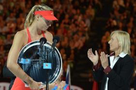 Navratilova Wants Players To Lay Off Sharapova