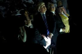Donald Trump's Encounter With Glowing Orb Sets Alight Social Media