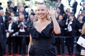 Pamela Anderson Looks Unrecognisable At Cannes