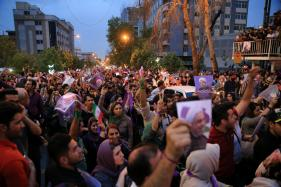 Rare Night of Street Parties in Iran After Rouhani's Win