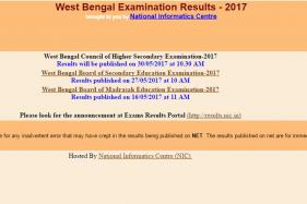 West Bengal WBBSE HSC Class 12 Results 2017 Will be Declared Today at 10:30 am, Check Your Grades at wbresults.nic.in
