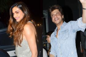Deepika Padukone, Shah Rukh Khan at Imtiaz Ali's Birthday Party