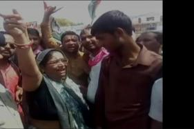 Congress MLA Seen Inciting People to Set Police Station Ablaze in MP