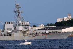 Search Continues For 7 Missing US Sailors After Ship Crash Off Japan